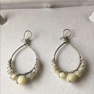 Chan Lu Sterling Silver Beaded Earrings